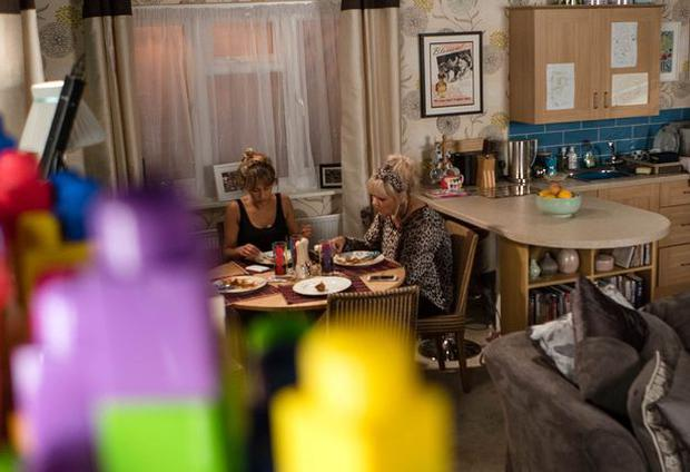 Maria and Beth are unaware they're being spied on. Photo: ITV