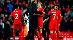 Jurgen Klopp likes to create a family atmosphere for his players