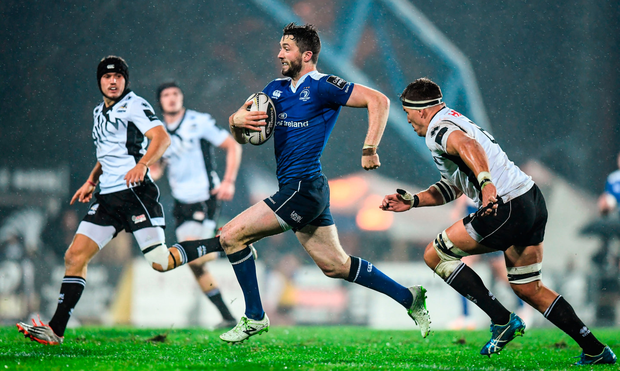 Leinster's Barry Daly makes a break. Photo: Stephen McCarthy/Sportsfile