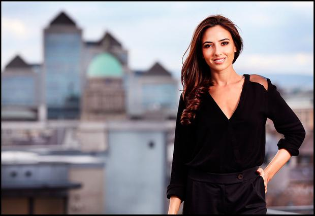 Nadia Forde in Dublin. Picture: Steve Humphreys