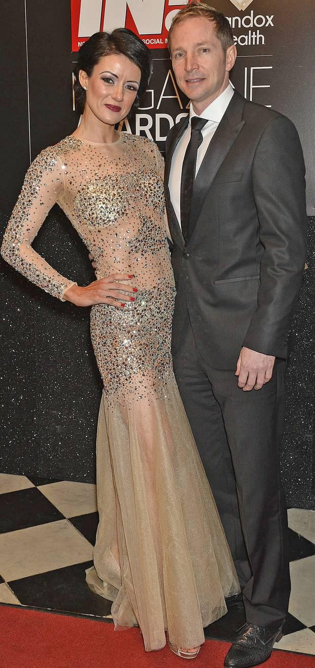 Kim and her husband, former Ulster rugby star Ryan Constable