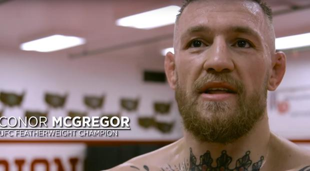 Conor McGregor is hoping to become the first fighter to hold two UFC titles concurrently