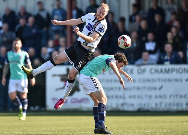 Chris Shields in action for Dundalk. Photo by Paul Mohan/Sportsfile