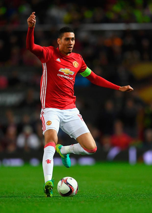 Chris Smalling. Photo: Getty Images