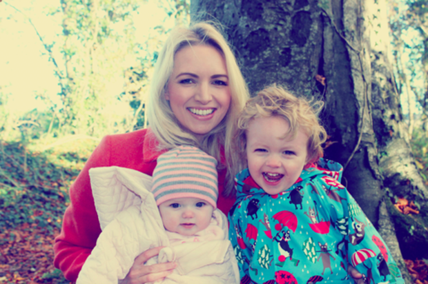 Mum-of-two Kate launched her online boutique MoonandBack.ie this morning