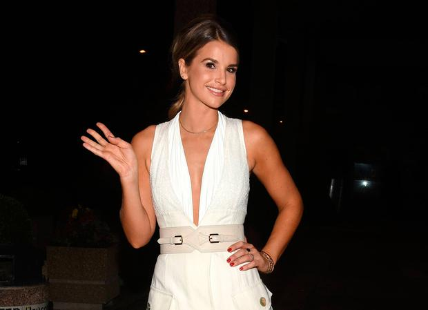 Vogue Williams at The Late Late Show