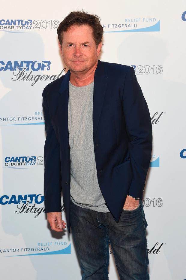 Actor Michael J. Fox attends the Annual Charity Day hosted by Cantor Fitzgerald, BGC and GFI at Cantor Fitzgerald on September 12, 2016 in New York City. (Photo by Jamie McCarthy/Getty Images for Cantor Fitzgerald)