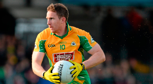 Gary Sice will be hoping to help Corofin take a step nearer club glory when they take on Castlebar Mitchels. Picture credit: Oliver McVeigh / SPORTSFILE