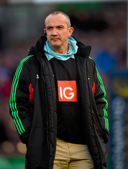 O'Shea took charge over the summer at the outset of a four-year term which he hopes will be just as successful as his stints with London Irish, the English RFU and Harlequins. Picture credit: Stephen McCarthy / SPORTSFILE