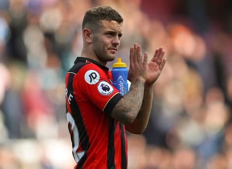 Wilshere will not make any decisions on his long-term future while he is at Bournemouth. Photo by Catherine Ivill - AMA/Getty Images