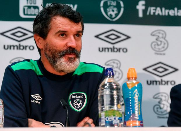 Republic of Ireland assistant manager Roy Keane. Photo by David Maher/Sportsfile