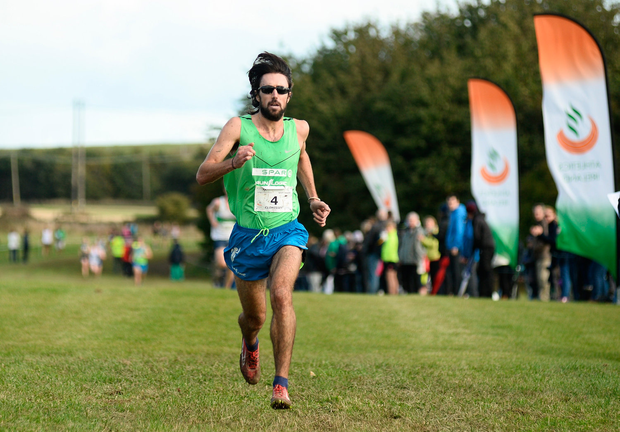 Raheny's Mick Clohisey was first in the Dublin Cross-Country Championships. Photo by Sam Barnes/Sportsfile