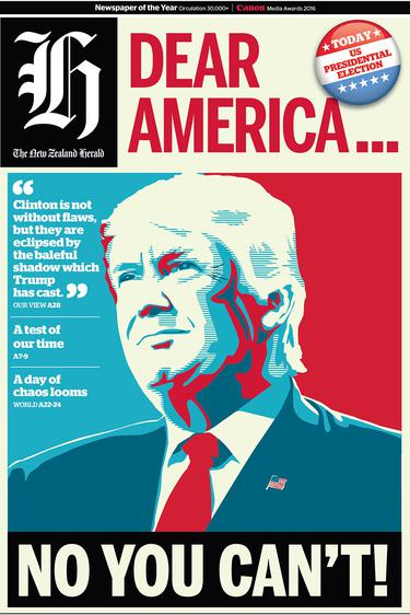 How newspapers worldwide reacted to US Election night - Independent ie