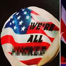 Sungier Danger have created a Trump-themed doughnut this morning