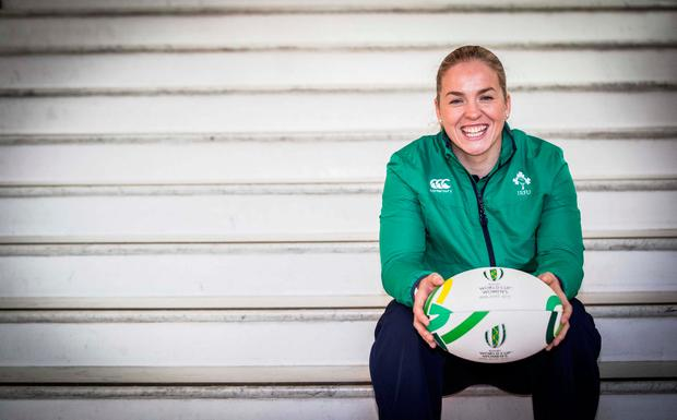 "Briggs: ""When you get to the World Cup it's about playing the best. We want to go and win it, and if you're going to win it you need to beat the best regardless of what pool they're in."" Photo credit ©INPHO/Morgan Treacy"