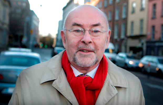 Ruairi Quinn: former minister's proposals caused ourtrage. Photo: Tom Burke