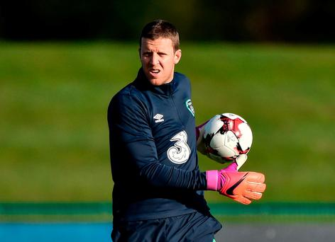 Colin Doyle has been through tough times on his road back to the Ireland squad. Photo: David Maher/Sportsfile