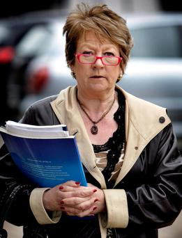 Outburst: Cllr Mary Freehill. Photo: Steve Humphreys