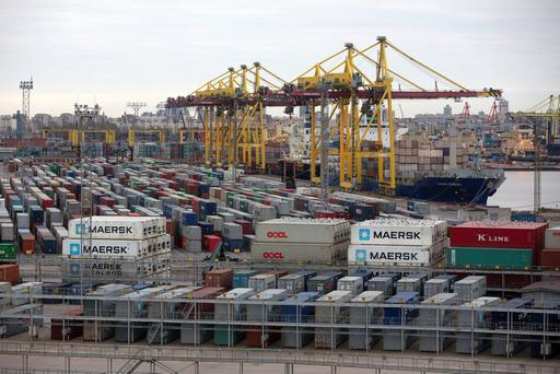Shipping taking a hit amid a downturn in international trade. Photo: Bloomberg