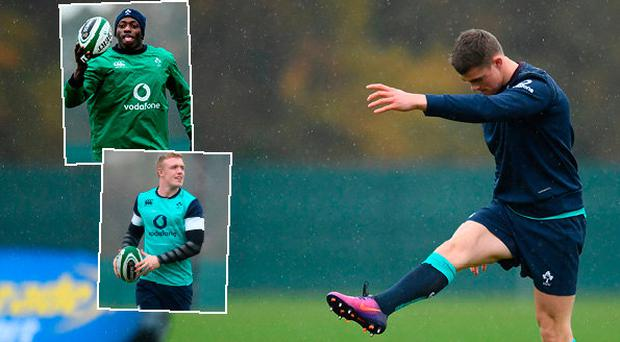 Ringrose, Adeolokun and Leavy could all start against Canada