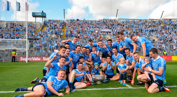 Dublin celebrate yet another Leinster title this year