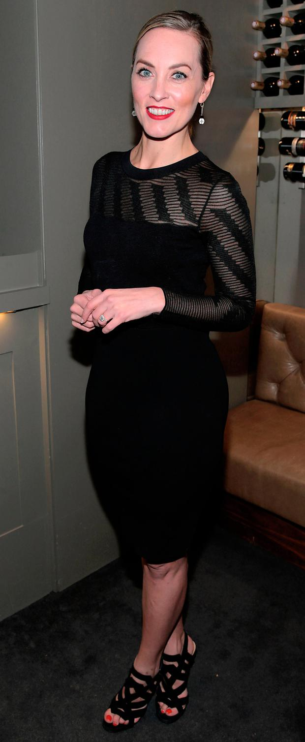 Kathryn Thomas pictured at the launch of the terrace at Asador Restaurant on Haddington Road, Dublin. Picture: Brian McEvoy