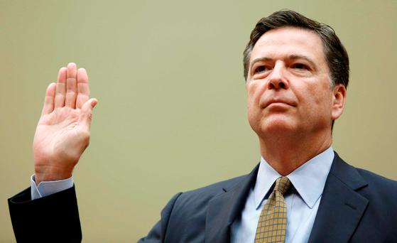 FBI Director James Comey. REUTERS/Gary Cameron/File Photo