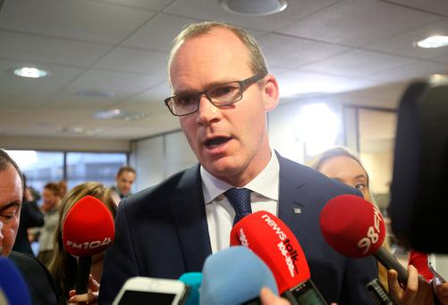 Housing Minister Simon Coveney has come under fire for his handling of Irish Water and housing. Photo: Tom Burke