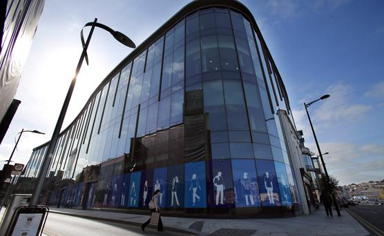 Apple's offices on Half Moon Street in Cork city PAUL FAITH/AFP/Getty Images