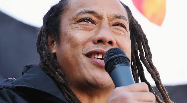 All Black legend and New Zealand Maori assistant coach Tana Umaga. Photo: Getty