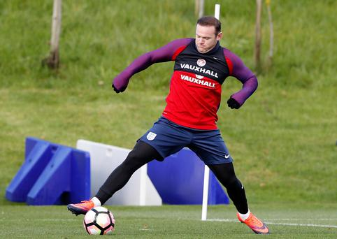 Wayne Rooney will be hoping to justify the faith shown in him by interim England coach Gareth Southgate. Picture: Reuters