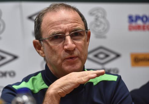 Republic of Ireland manager Martin O'Neill has plenty of faith in his players. Photo: Sportsfile