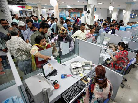 The government announced on Tuesday what it called a 'strike' against those who keep unaccounted-for cash in India Reuters