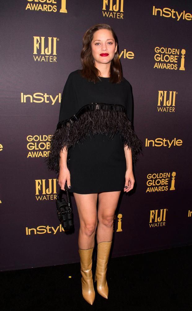 Actress Marion Cotillard attends the reveal of Miss Golden Globe 2017 during the celebration of the 2017 Golden Globe Award season by The Hollywood Foreign Press Association (HFPA)