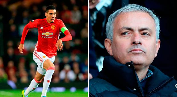 Is Chris Smalling injured or not?