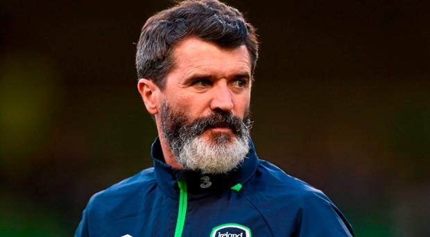 Republic of Ireland assistant manager Roy Keane