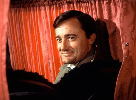In this undated photo, actor Robert Vaughn is photographed in Rome, Italy. Vaughn, the debonair crime-fighter of television's