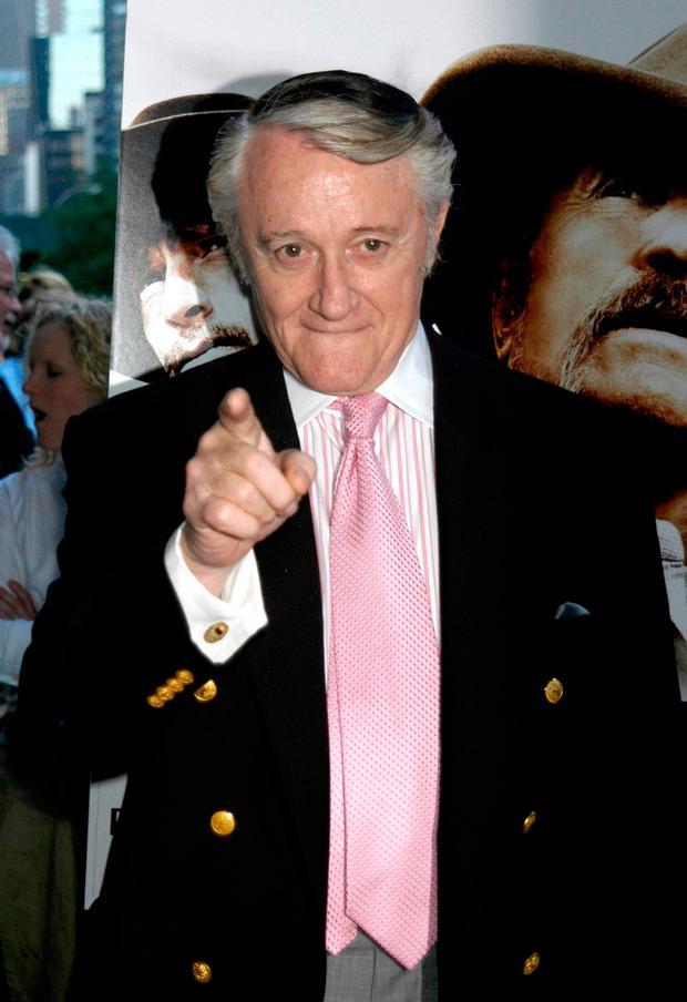 In this June 13, 2006 file photo, actor Robert Vaughn arrives for the premiere of