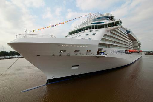 Celebrity Cruises will be using Dublin Port as a 'home' destination beginning in 2018
