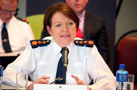 Garda Commissioner Nóirín O'Sullivan O'Sullivan has been forced to redraft the force's new whistleblowing policy – just four months after it was delivered.. Photo: Damien Eagers