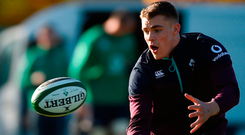 Garry Ringrose is one of Ireland's young guns set to make a step up today. Photo by Matt Browne/Sportsfile