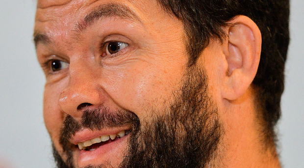 Ireland defence coach Andy Farrell: