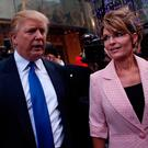 Team Trump: President-elect Donald Trump with Sarah Palin