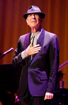 Profound: Leonard Cohen. Photo by Mike Lawrie/Getty Images