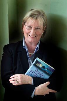Author Deirdre Purcell has published her 13th novel. Photo: Kyran O'Brien