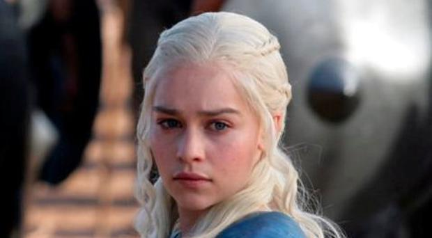 Emilia Clarke as Daenerys Targaryen in Sky's smash-hit series 'Game of Thrones'