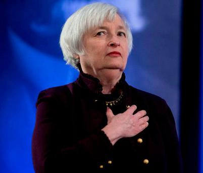 Chair of the U.S. Federal Reserve Janet Yellen. Photo: Andrew Harrer/Bloomberg