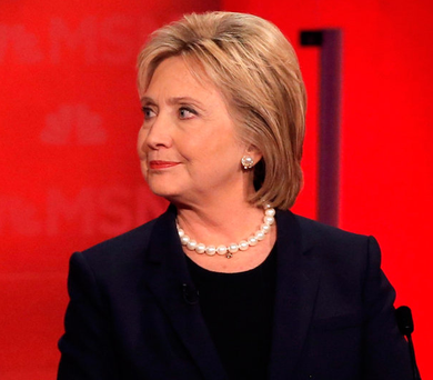 Hillary Clinton was caught up in an email scandal as the election drew to a close. Photo: Mike Segar/Reuters