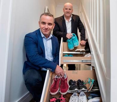 Paul Jacobs who started Smart Storage after his building firm closed down. Photo: Fergal Phillips