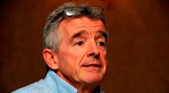 Ryanair CEO Michael O'Leary Photo: Nick Ansell/PA Wire